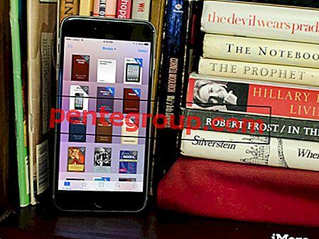 Slik sletter du bøker fra iBooks-appen på iPhone / iPad i iOS 8